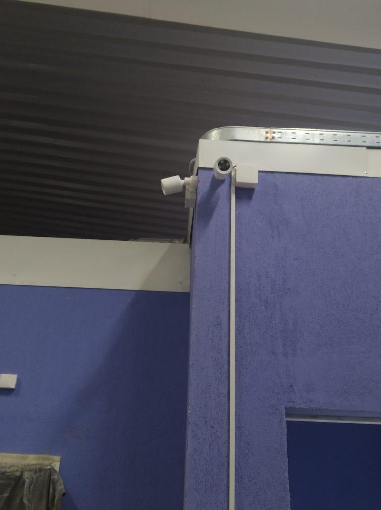 """Видеонаблюдение. """"Ледовая Арена"""". Камеры на 2м этаже"""
