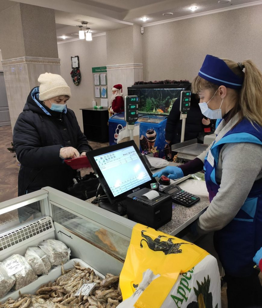 Автоматизация магазина морепродуктов