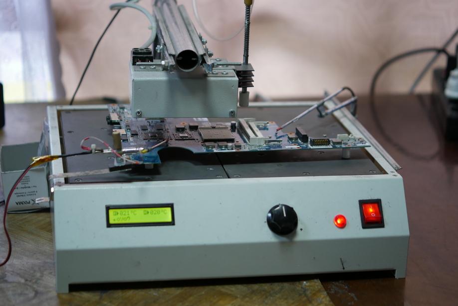 Паяльная станция для сложного ремонта ноутбуков